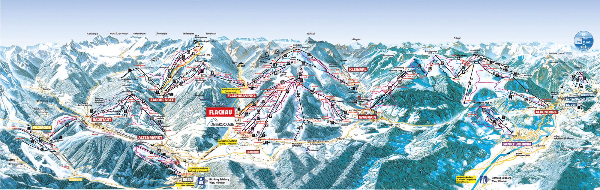 Ski Amade Flachau Die Bergquelle B&B Hotel